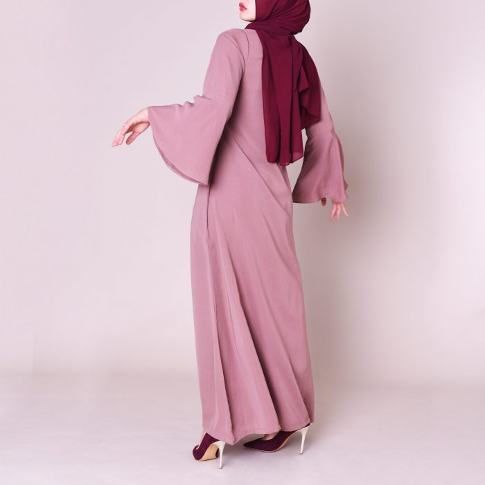 Marwa Abaya Back Shot