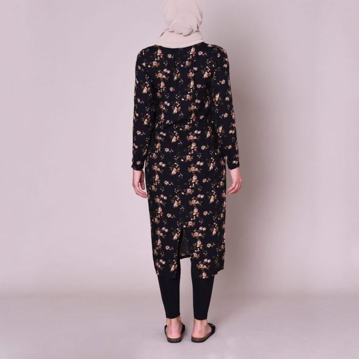 Mila Midi Dress Back