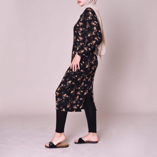 Mila Midi Dress Side